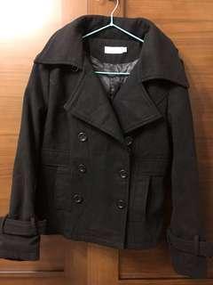 🚚 艾格雙排釦大衣