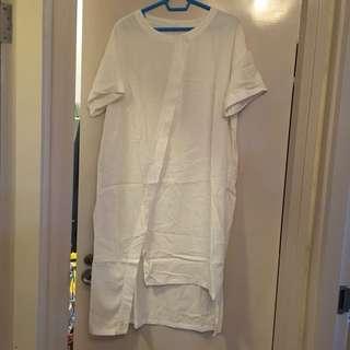 女裝 全新白色連身裙