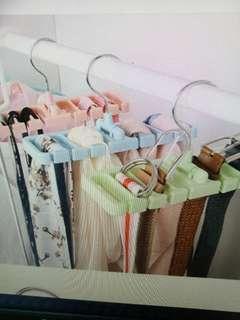 Tie/ belt Rotating Hanger - closet organiser