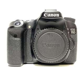 Canon EOS 70D Body Only (SC 9K)