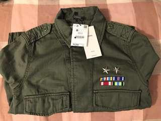 Bershka日本版軍綠色外套
