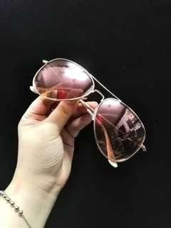 Sunnies Studio Rosegold Sunglasses