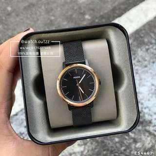 Fossil Watch 【Neely Black】