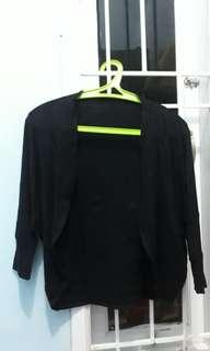 Outher bahan spandek warna hitam
