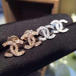 20份💎18k金鑽石耳環