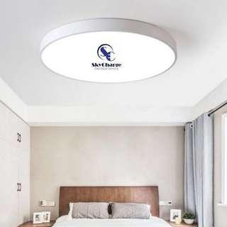 Led ceiling light w 3 Tone n remote