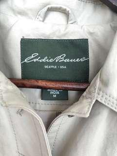 Eddie Bauer Women Long trench coat MINT CONDITION