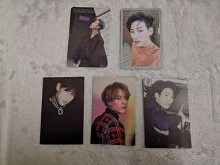 [WTS] GOT7 7 FOR 7, 7 FOR 7 WINTER EDITION & EYES ON YOU PHOTOCARDS