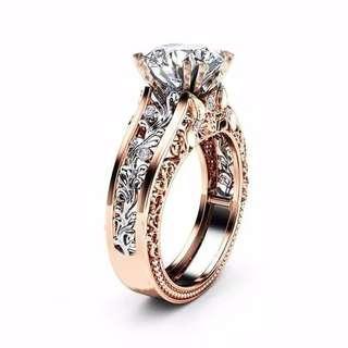 CINCIN Berlian Lapis Emas jual.murah sudah dapat kotak perhiasannya