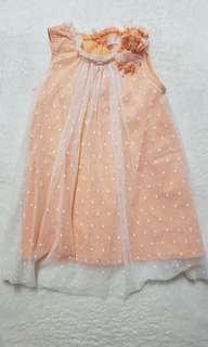 Gingersnaps orange dress