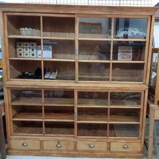 早期中藥櫃 書櫃 展示櫃