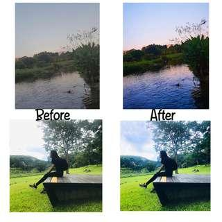 Picture editing service