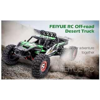FEIYUE FY06 1:12 2.4GHZ 6WD RC OFF-ROAD DESERT TRUCK RTR 60KM HIGH-SPEED / METAL SHOCK ABSORBER / LED LIGHTS