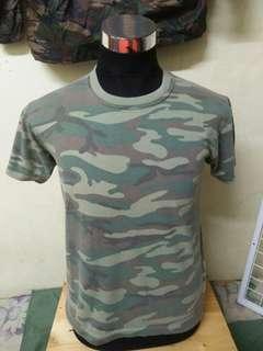 Army camo style tshirt