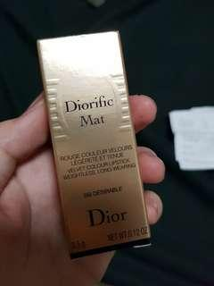 Dior diorific mat red lipstick in desirable holiday collection 2018
