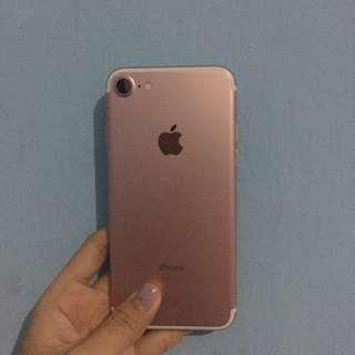 iphone 7 rosegold ‼️RE-PRICE‼️