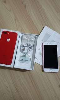 Iphone 7 Plus red product 128gb