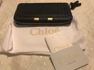 Authentic - Chloe Marcie zip around long Wallet