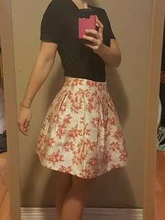 Dressy skirt- knee length
