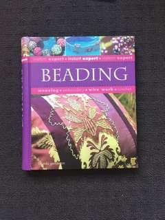 Beautiful beading hardcover book