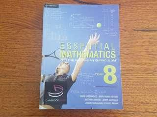 Cambridge Essential Mathematics Year 8