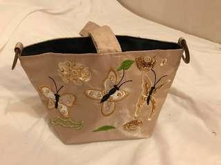 Embroidery and sequin bag brand new