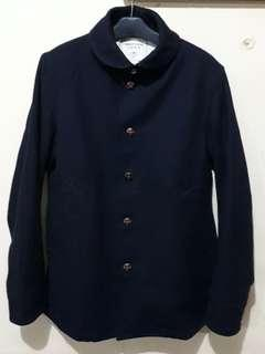 WORKER'S UNION by COEN C l E Smooth WOLL Chore Jacket
