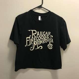 Railcar Finegoods Monrovia Graphic Tee