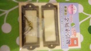 🚚 DIY金屬鎖引牌(紙製品專用)