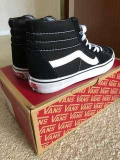 Vans Sk8-HI shoes in black