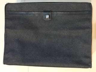 Dunhill 復古帆布可折疊行李箱