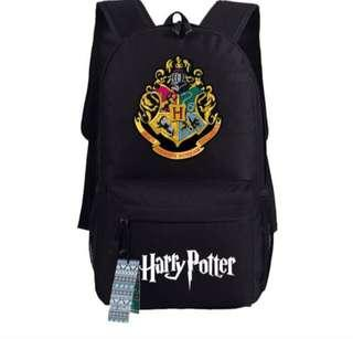 Harry Potter hogwarts black backpack school