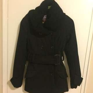 Black Formal Winter Jacket