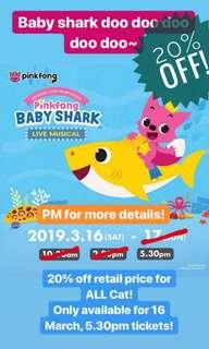 Baby Shark Musical (20% off)