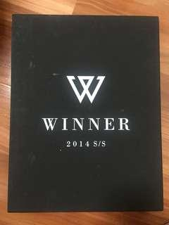 WTS Winner 2014 S/S Limited Edition Album