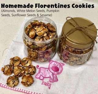 ♨️ <Freshly Baked> 65 pcs of Homemade Florentine Cookies (300g) [No Pork & No Lard) #PRECNY60 #CNYKITCHEN