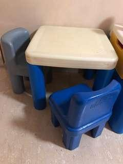 Little Tikes Table with chairs