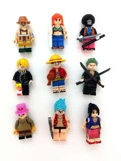 Lego Compatible One Piece Minifigures