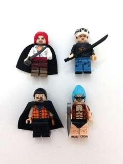 Lego Compatible One Piece Minifigures (2)