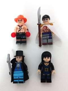 Lego Compatible One Piece Minifigures (3)