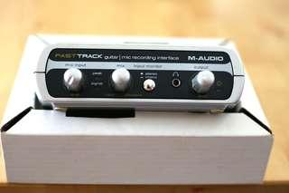 M-AUDIO Fast Track USB Interface