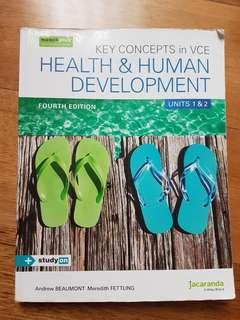 Health and Human Development Fourth Edition Units 1&2