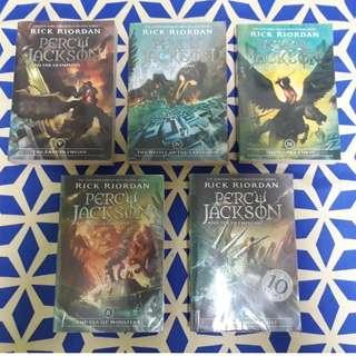 Percy Jackson & the Olympians (Book Set 1-5)