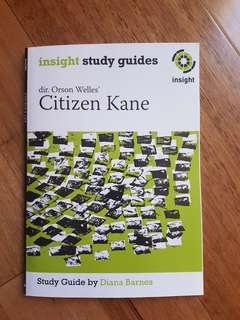 Citizen Kane Insight Study Guide by Diana Barnes
