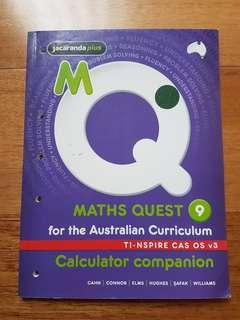 Maths Quest Calculator Companion