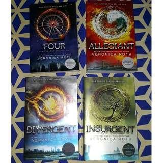 Divergent Trilogy by Veronica Roth (Book Set 1 - 4) NEW