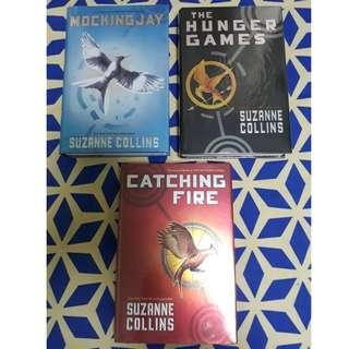 Hunger Games Trilogy by Suzanne Collins - Hard Bound NEW