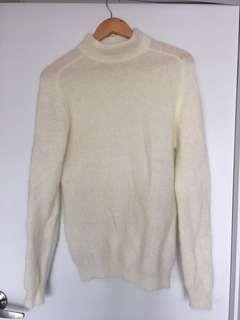 Mohair wool blend jumper