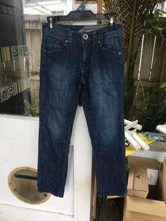 Boys Size 10 Volcom Jeans