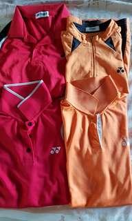 Lot of 4 sports shirts yonex women medium